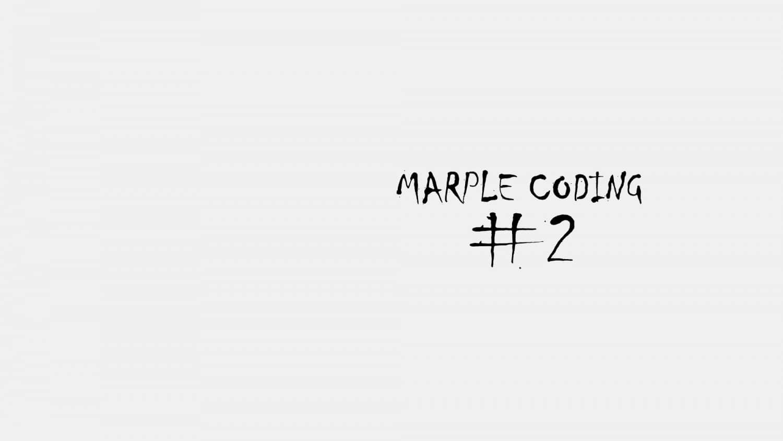 Marple Coding 2 Titelbild