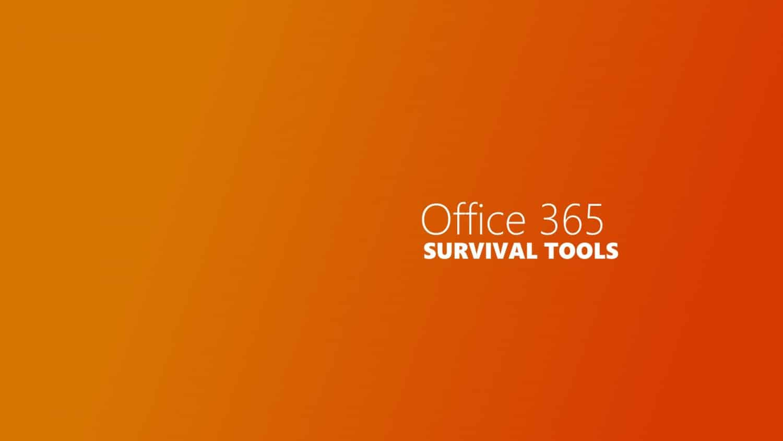 Office Survival Tools Titelbild