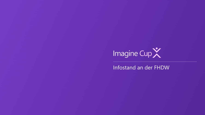 MSImagineCup2017 Infostand Titelbild