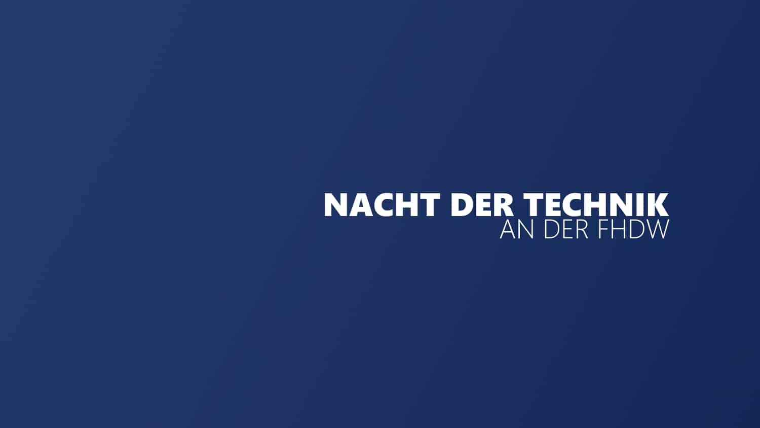 NachtDerTechnik2017 Titelbild
