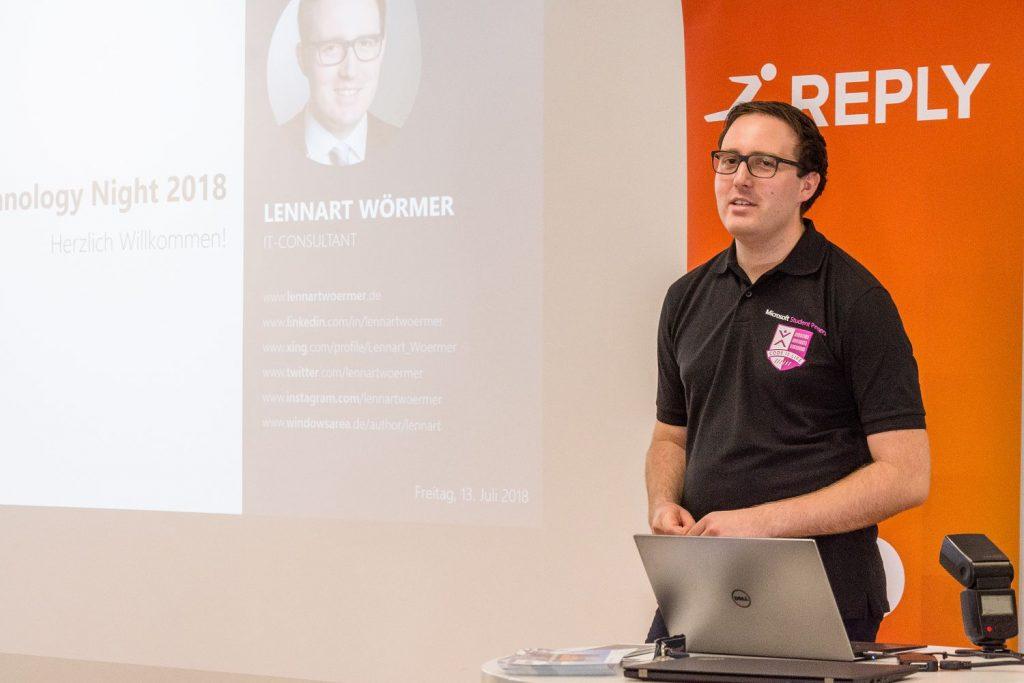 Technology Night 2018 Lennart Woermer 01
