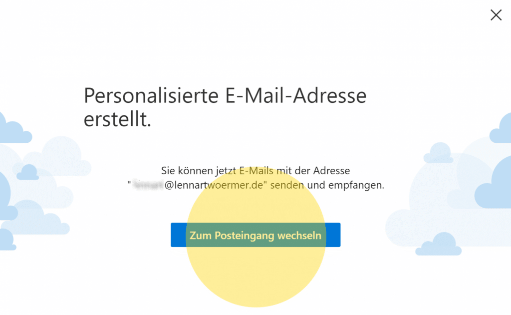 Outlook Domain GoDaddy 9