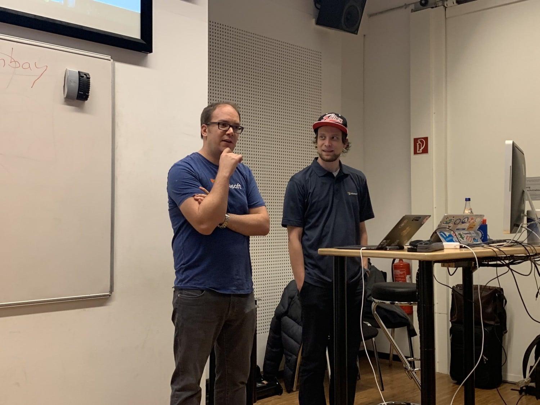 Azure Cologne Meetup Building Runnung Cloud Native Apps Azure Daniel Neumann Dennis Zielke 2