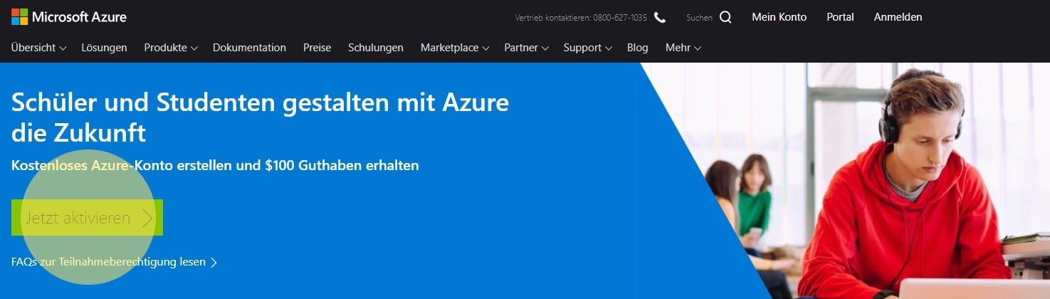 Microsoft Azure for Students 1