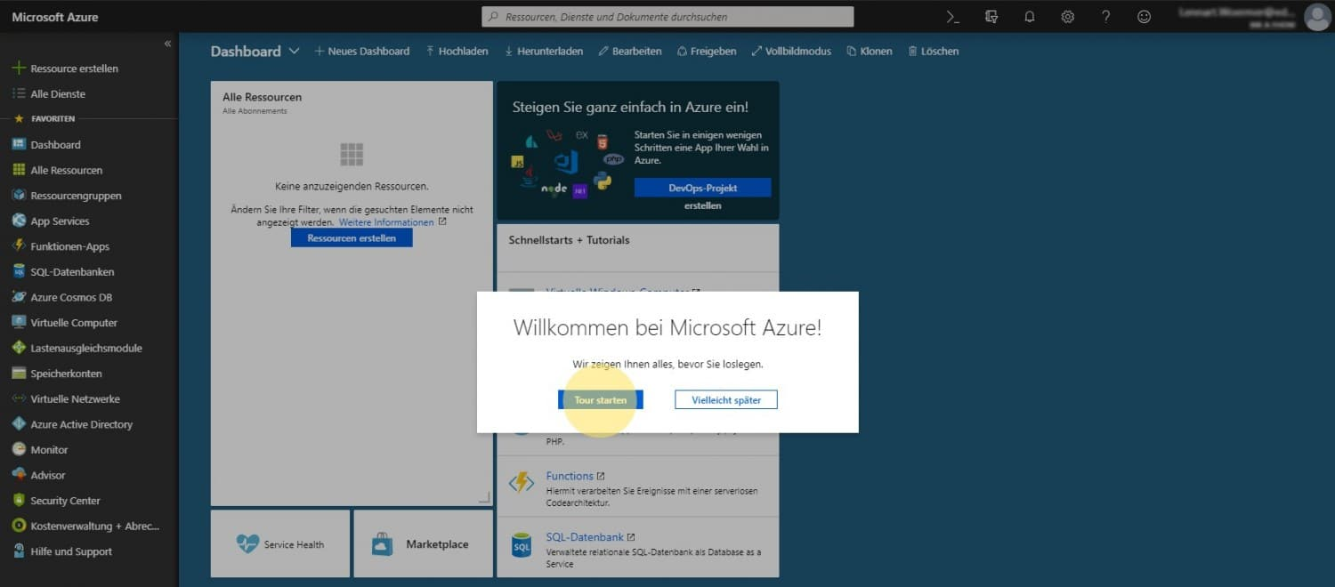 Microsoft Azure for Students 4