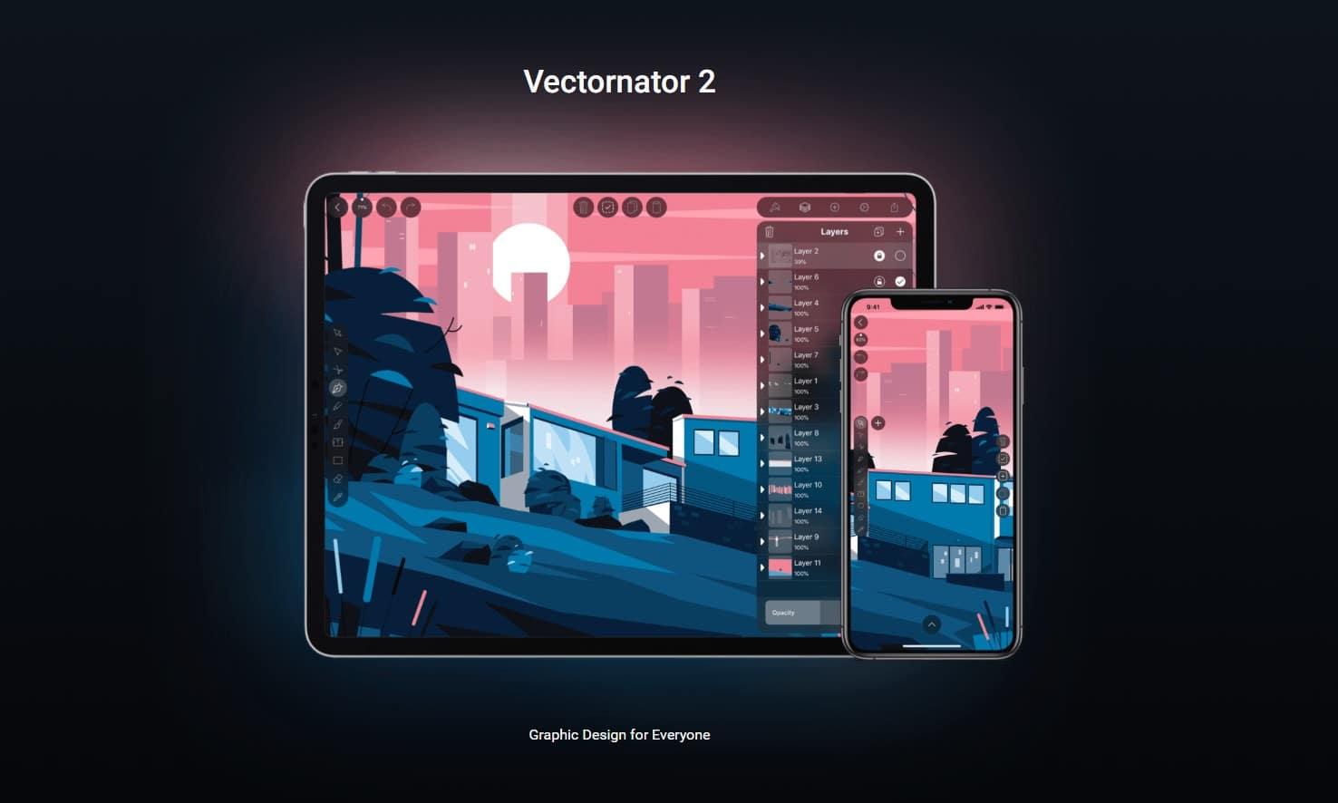 Vectornator 2 iOS App