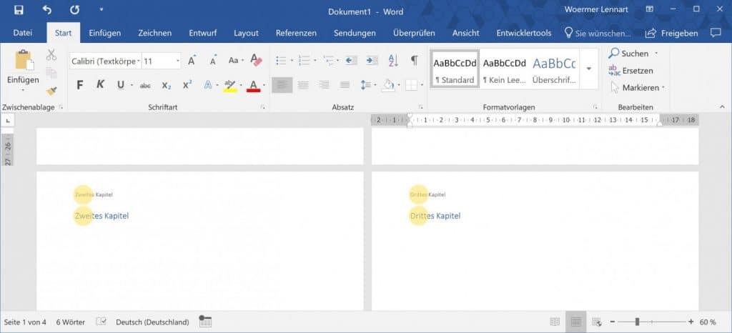 Microsoft Word Aktuelle Ueberschrift auf jeder Seite 4