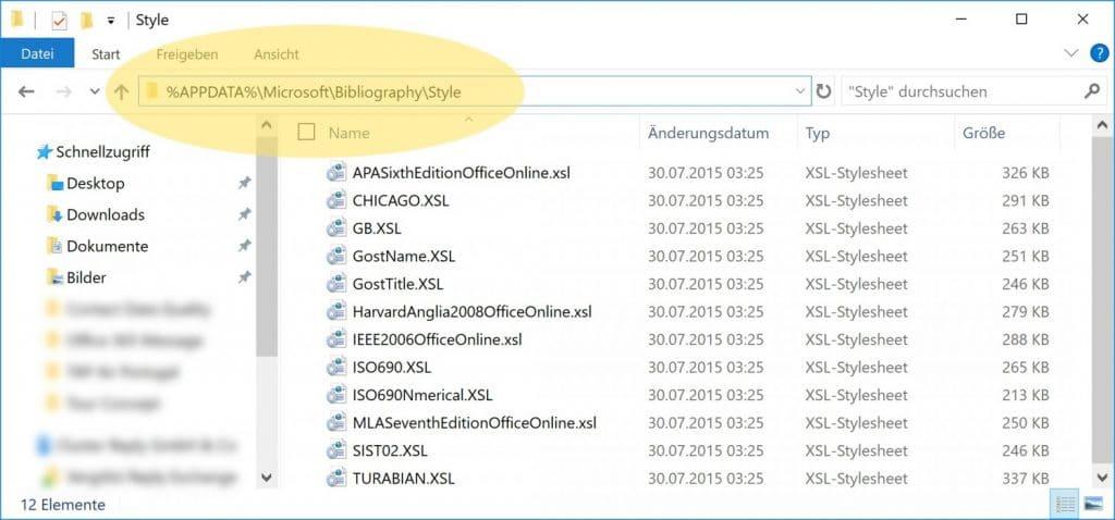 Microsoft Word Zitate Klammern 1