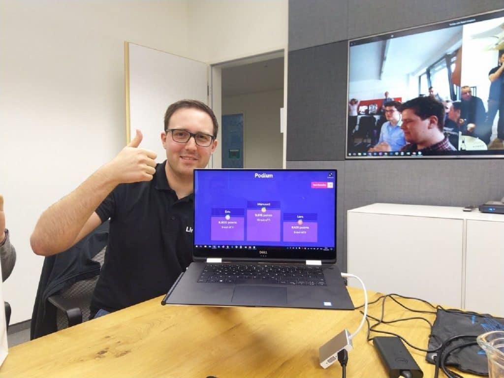Microsoft Build 2019 Public Viewing Lennart Woermer Winners Kahoot Quiz