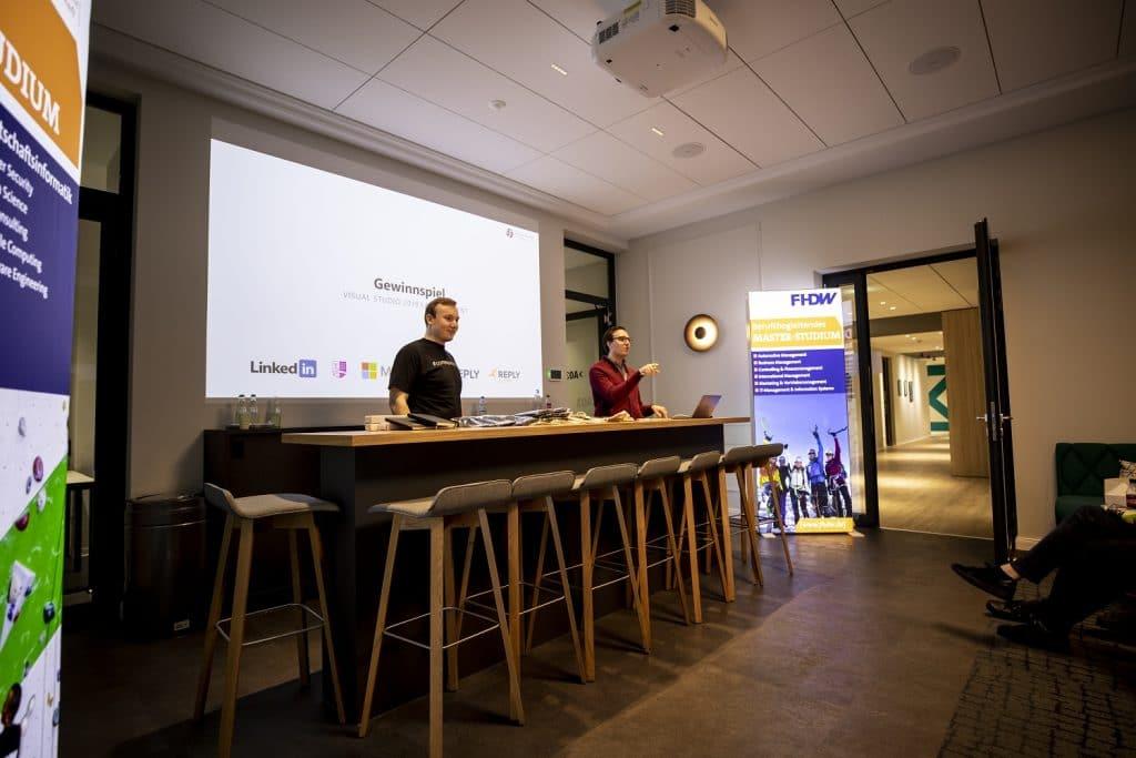 Visual Studio 2019 Launch Event Lennart Woermer Robert Horrion Gewinnspiel 01
