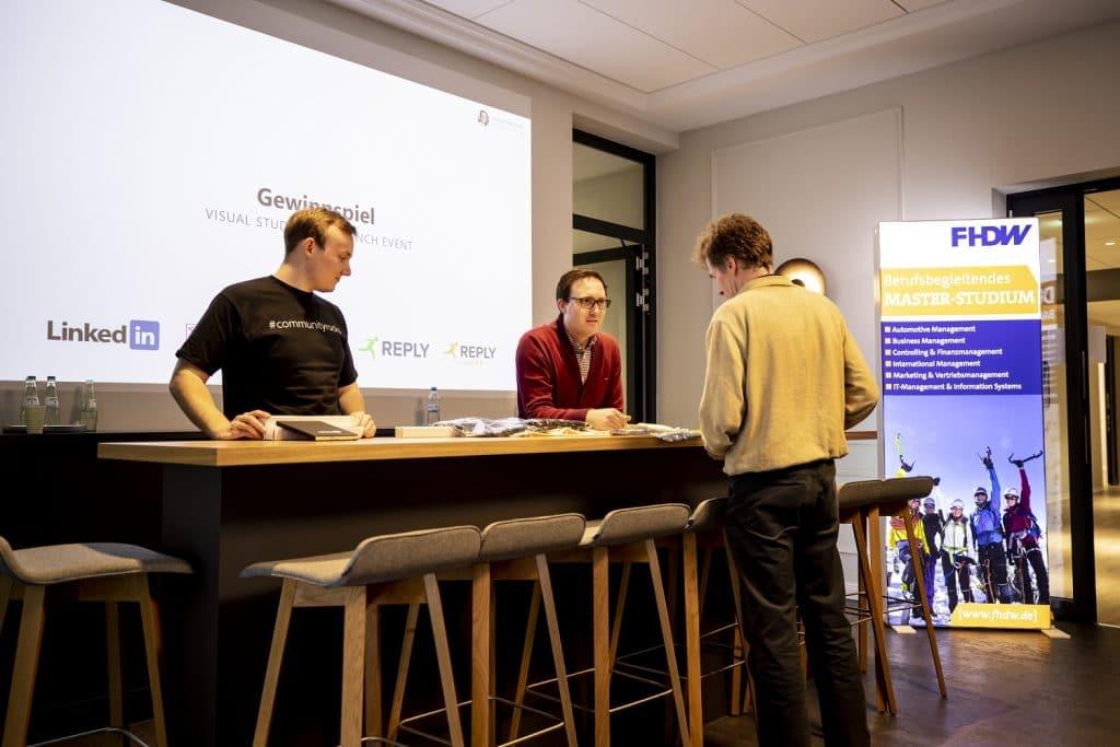 Visual Studio 2019 Launch Event Lennart Woermer Robert Horrion Gewinnspiel 04