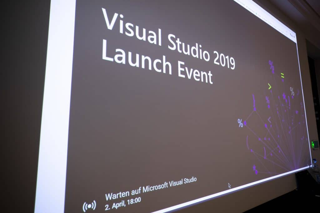 Visual Studio 2019 Launch Event YouTube Streaming