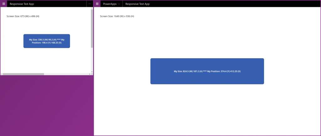 How To Building Really Responsive Microsoft PowerApps 6 Different Screen Sizes