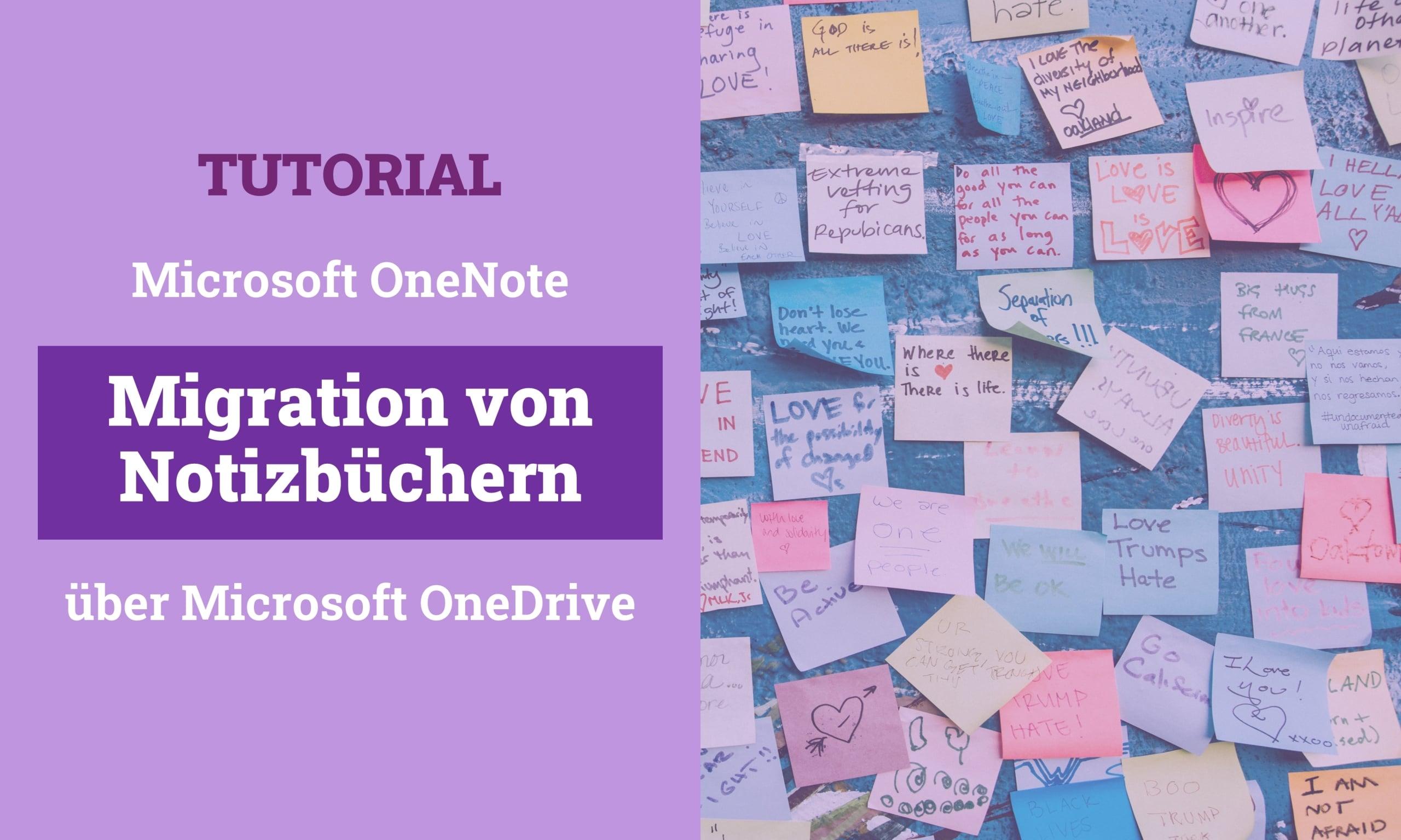 OneNote Migrate Through OneDrive Titelbild scaled