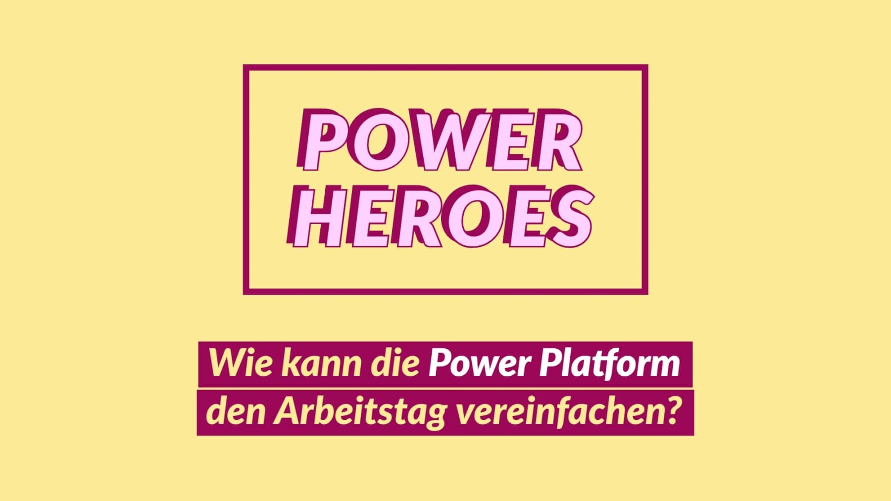 Power Heroes Titelbild