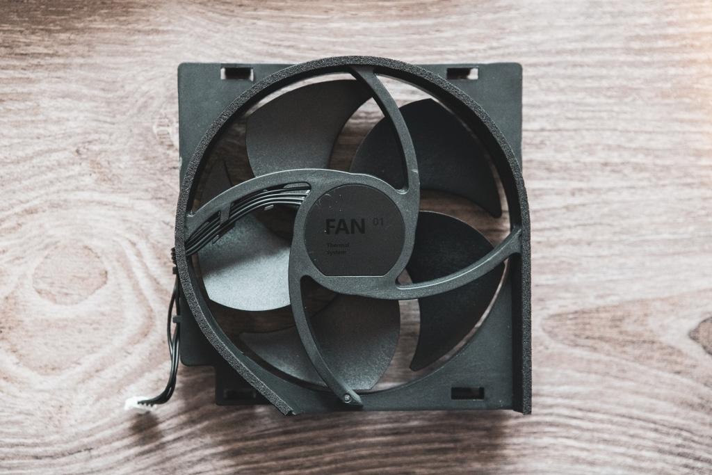 Xbox One S Fan Replacement Old Fan