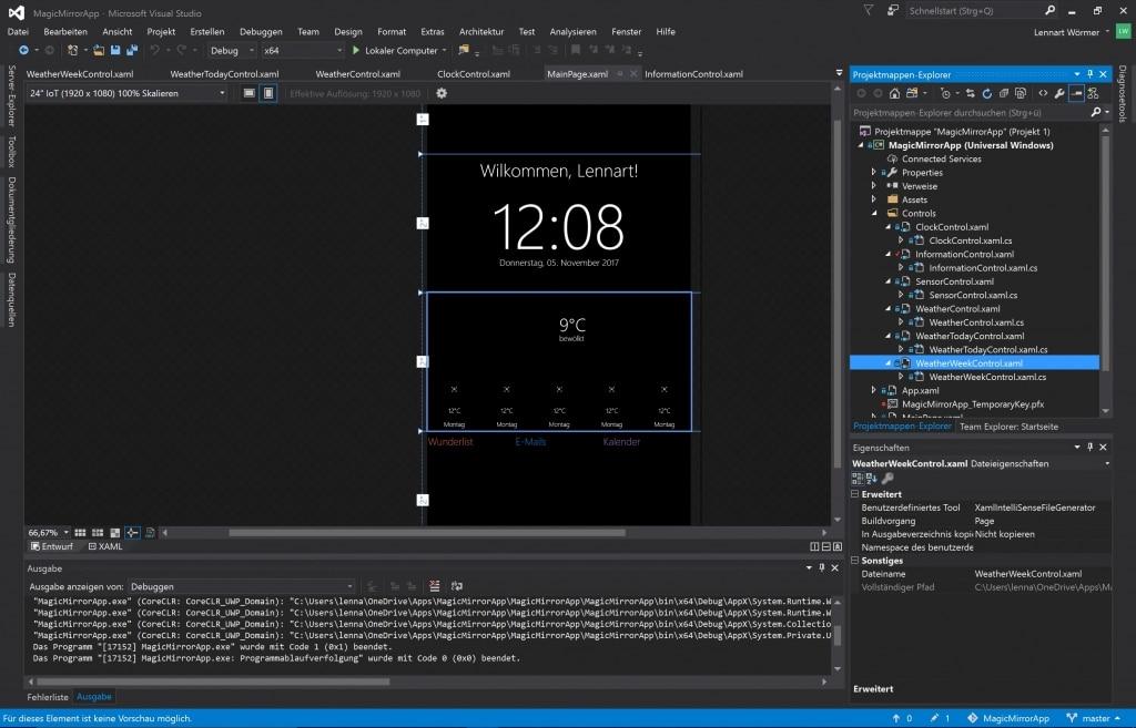 MagicMirror Visual Studio Overview