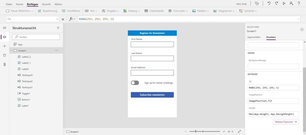 PowerApps Portals Embedd PowerApps App